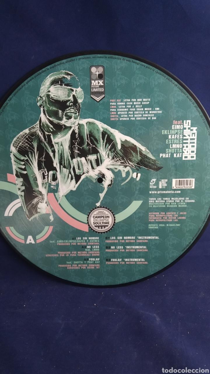 LP MX PICTURE DISC LIMITED EDITION. MÉTODO SHIMARO. LOS SIN NOMBRE (Música - Discos - LP Vinilo - Rap / Hip Hop)