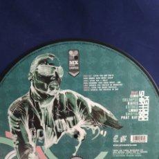 Disques de vinyle: LP MX PICTURE DISC LIMITED EDITION. MÉTODO SHIMARO. LOS SIN NOMBRE. Lote 287031998