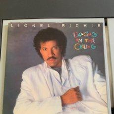 """Disques de vinyle: LP. LIONEL RICHIE """" DANCING ON THE CEILING """". ( MOTOWN. 1985/86). Lote 287058108"""