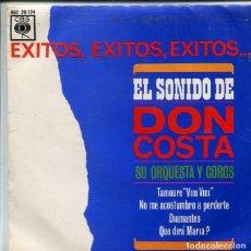 Discos de vinilo: DON COSTA / DIAMANTES + 3 (EP CBS 1963). Lote 287061813