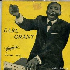 Discos de vinilo: EARL GRANT / CUANDO LA LUNA / YOU THRILL ME / EBB TIDE / NEXT TIME (EP BRUNSWICK 1961). Lote 287063653