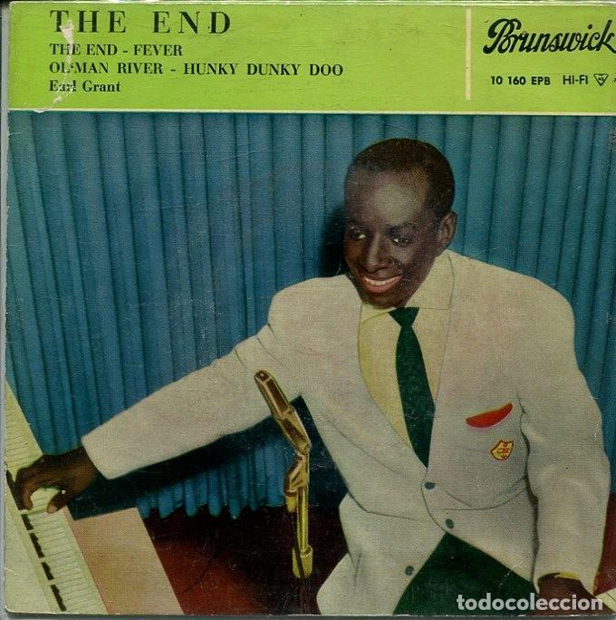 EARL GRANT / THE END + 3 (EP BRUNSWICK 1960) (Música - Discos de Vinilo - EPs - Funk, Soul y Black Music)