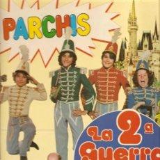 Discos de vinilo: 'LA 2ª GUERRA DE LOS NIÑOS', DE PARCHÍS. LP 10 TEMAS. 1981. BUEN ESTADO.. Lote 287083138