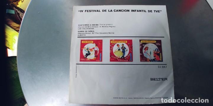 Discos de vinilo: ALBERTO-LOS VALDEMOSA-SINGLE FANTASMAS A GO-GO - Foto 2 - 287085833