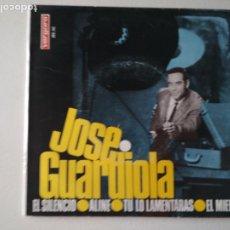Discos de vinilo: JOSE GUARDIOLA EL SILENCIO ALINE TU LO LAMENTARAS EL MIEDO 1966. Lote 287095528