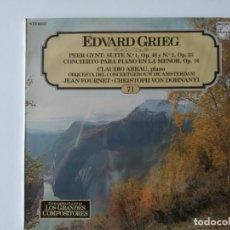 Discos de vinilo: ENCICLOPEDIA SALVAT DE LOS GRANDES COMPOSITORES Nº 71 (NUEVO). Lote 287101243