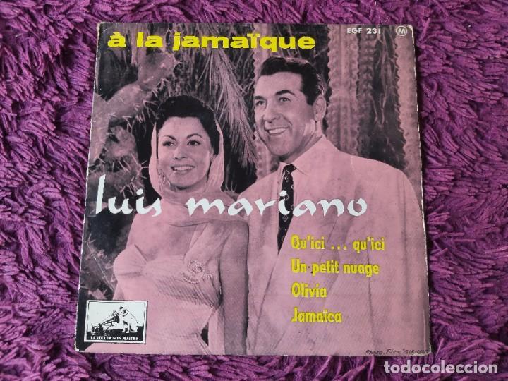 """LUIS MARIANO – A LA JAMAÏQUE ,VINYL, 7"""", EP 1957 FRANCE 7 EGF 231 (Música - Discos de Vinilo - EPs - Bandas Sonoras y Actores)"""