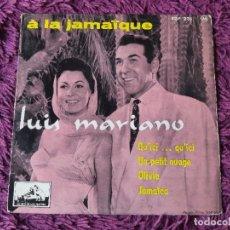 "Discos de vinilo: LUIS MARIANO – A LA JAMAÏQUE ,VINYL, 7"", EP 1957 FRANCE 7 EGF 231. Lote 287111878"