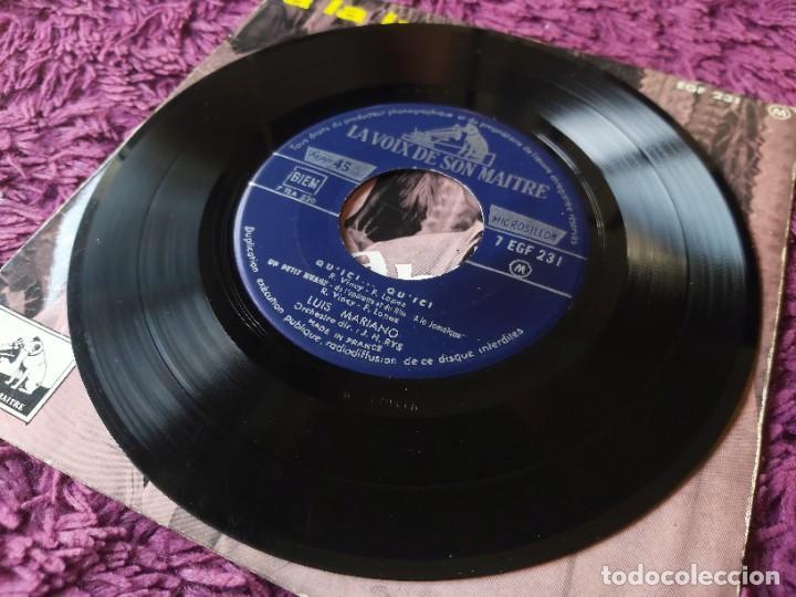 "Discos de vinilo: Luis Mariano – A La Jamaïque ,Vinyl, 7"", EP 1957 France 7 EGF 231 - Foto 4 - 287111878"
