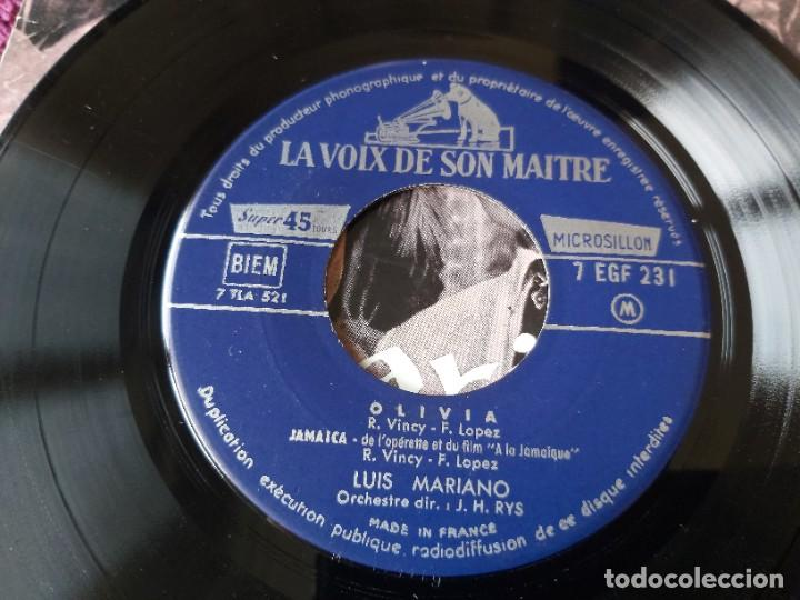 "Discos de vinilo: Luis Mariano – A La Jamaïque ,Vinyl, 7"", EP 1957 France 7 EGF 231 - Foto 5 - 287111878"