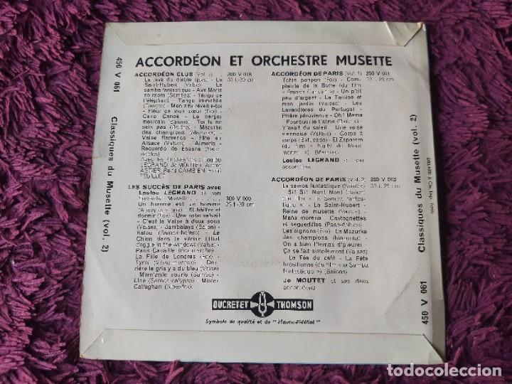 """Discos de vinilo: André Astier - Classiques Du Musette - Vol. 2 ,Vinyl, 7"""", EP 1957 France 450 V 061 - Foto 2 - 287112458"""