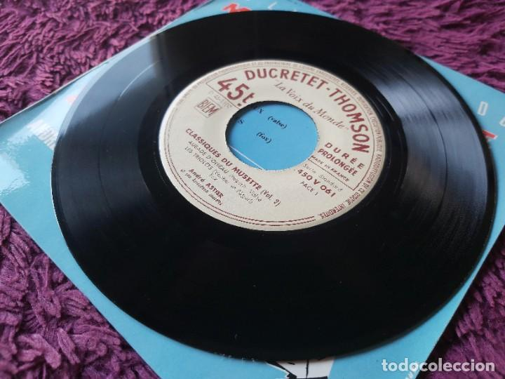 """Discos de vinilo: André Astier - Classiques Du Musette - Vol. 2 ,Vinyl, 7"""", EP 1957 France 450 V 061 - Foto 4 - 287112458"""