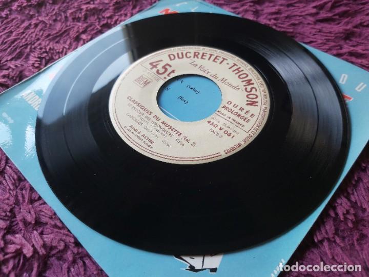"""Discos de vinilo: André Astier - Classiques Du Musette - Vol. 2 ,Vinyl, 7"""", EP 1957 France 450 V 061 - Foto 6 - 287112458"""
