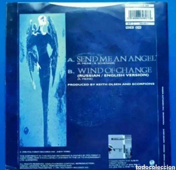 Discos de vinilo: Single de SCORPIONS. LEER DESCRIPCIÓN ANTES DE PUJAR O COMPRAR. - Foto 2 - 287112878