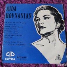 "Discos de vinilo: AIDA HOVNANIAN ,VINYL, 7"", EP 1955 FRANCE EPO 0322. Lote 287113368"