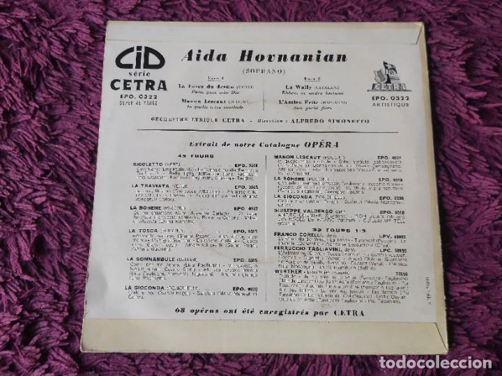 "Discos de vinilo: Aida Hovnanian ,Vinyl, 7"", EP 1955 France EPO 0322 - Foto 2 - 287113368"