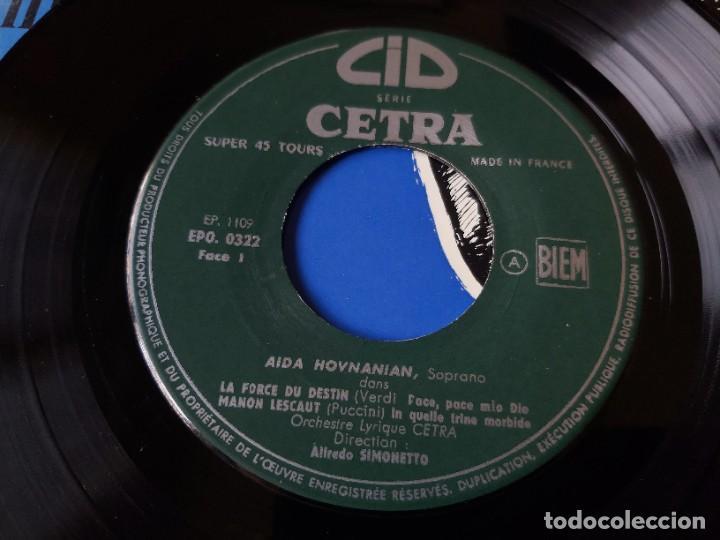 "Discos de vinilo: Aida Hovnanian ,Vinyl, 7"", EP 1955 France EPO 0322 - Foto 3 - 287113368"