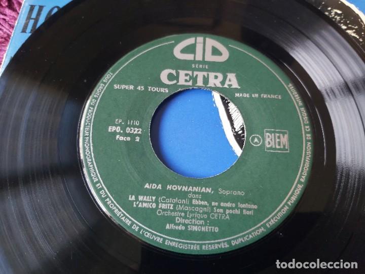 "Discos de vinilo: Aida Hovnanian ,Vinyl, 7"", EP 1955 France EPO 0322 - Foto 5 - 287113368"