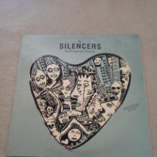 Discos de vinilo: THE SILENCERS / BULLETPROOF HEART. Lote 287115198