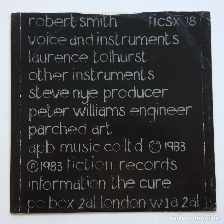 Discos de vinilo: The Cure – The Upstairs Room / The Dream / The Walk / Lament , UK 1983 Fiction - Foto 2 - 287132488