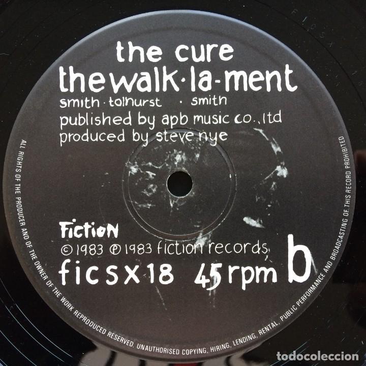 Discos de vinilo: The Cure – The Upstairs Room / The Dream / The Walk / Lament , UK 1983 Fiction - Foto 4 - 287132488