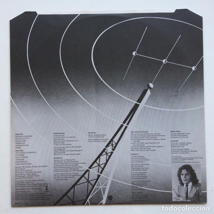 Discos de vinilo: Kraftwerk – Radio-Activity , France 1975 Capitol Records - Foto 4 - 287137113