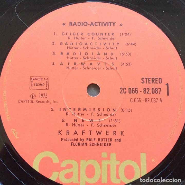 Discos de vinilo: Kraftwerk – Radio-Activity , France 1975 Capitol Records - Foto 5 - 287137113