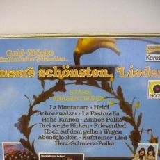 Discos de vinilo: UNSERE SCHONSTEN LIEDER. Lote 287138863