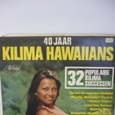 Discos de vinilo: KILIMA HAWAIIANS. Lote 287139073