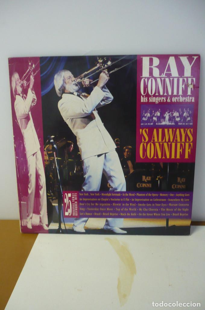 RAY CONNIFF HIS SINGERS & ORCHESTRA (Música - Discos - LP Vinilo - Orquestas)