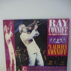 Discos de vinilo: RAY CONNIFF HIS SINGERS & ORCHESTRA. Lote 287139778