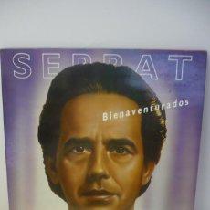 Discos de vinilo: SERRAT BIENAVENTURADOS. Lote 287140123