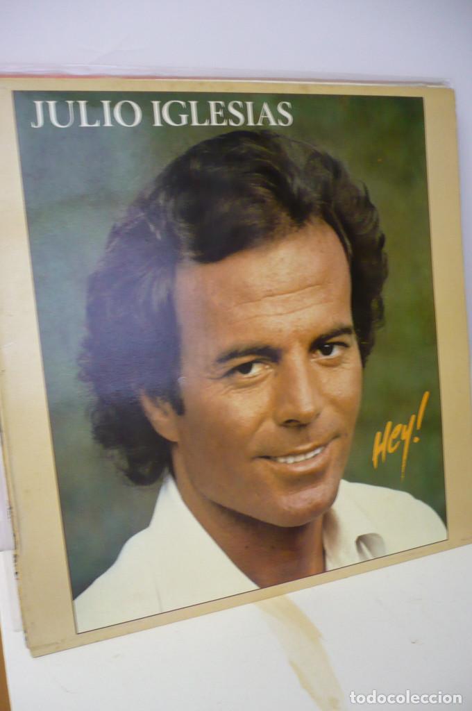 JULIO IGLESIAS HEY (Música - Discos - LP Vinilo - Solistas Españoles de los 70 a la actualidad)