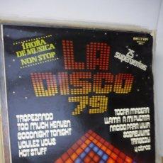 Discos de vinilo: LA DISCO 79. Lote 287144288