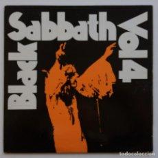 Discos de vinilo: BLACK SABBATH – BLACK SABBATH VOL. 4, IRELAND 1982 NEMS. Lote 287146993