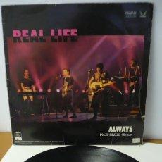 Discos de vinilo: REAL LIFE CATCH ME I´M FALLING. Lote 287149183