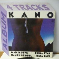 Discos de vinilo: MAXI SINGLE CANO 4 TRACKS. Lote 287149358