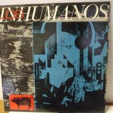 Discos de vinilo: LOS INHUMANOS. Lote 287150603