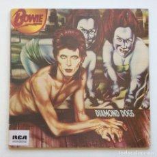 Discos de vinilo: BOWIE – DIAMOND DOGS, UK 1981 RCA INTERNATIONAL. Lote 287152673