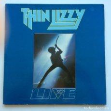 Discos de vinilo: THIN LIZZY – LIFE LIVE, 2 VINYLS HOLANDA 1983 VERTIGO. Lote 287160553