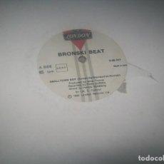 Discos de vinilo: BRONSKI BEAT - SMALLTOWN BOY .. MAXISINGLE DE 1984 - LONDON - JIMMY SOMERVILLE .. Lote 287165508
