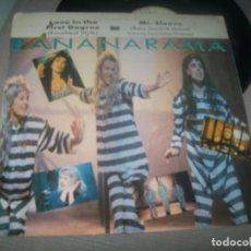 Discos de vinilo: BANANARAMA - LOVE IN THE FIRST DEGREE + MR. SLEAZE ..MAXISINGLE 1988 - ESPAÑA. Lote 287166733