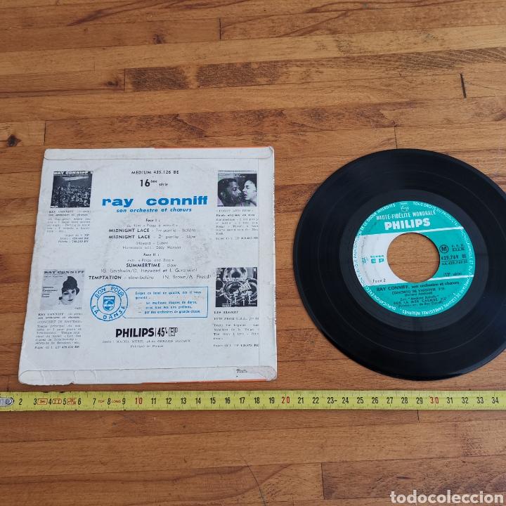 Discos de vinilo: Disco de vinilo de 45rpm de Ray Connif. Midnight Lace - Foto 2 - 287169018