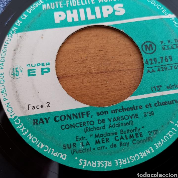 Discos de vinilo: Disco de vinilo de 45rpm de Ray Connif. Midnight Lace - Foto 3 - 287169018