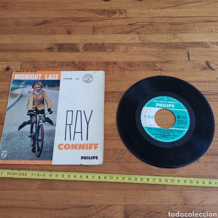 DISCO DE VINILO DE 45RPM DE RAY CONNIF. MIDNIGHT LACE (Música - Discos de Vinilo - Maxi Singles - Pop - Rock Internacional de los 50 y 60)