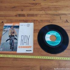 Discos de vinilo: DISCO DE VINILO DE 45RPM DE RAY CONNIF. MIDNIGHT LACE. Lote 287169018