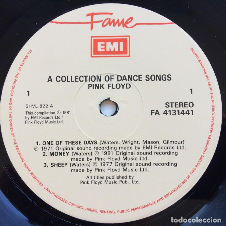 Discos de vinilo: Pink Floyd – A Collection Of Great Dance Songs, UK Fame - Foto 3 - 287177783