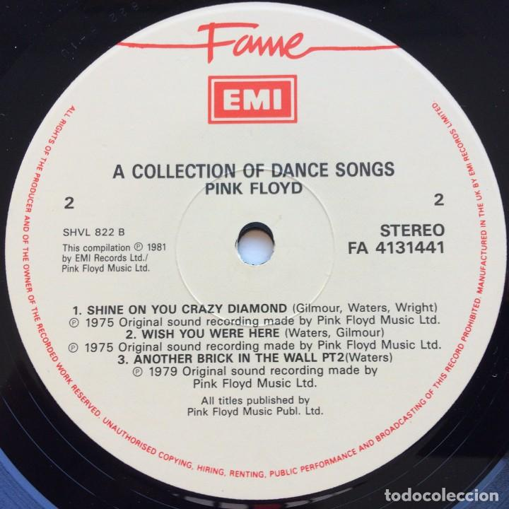 Discos de vinilo: Pink Floyd – A Collection Of Great Dance Songs, UK Fame - Foto 4 - 287177783