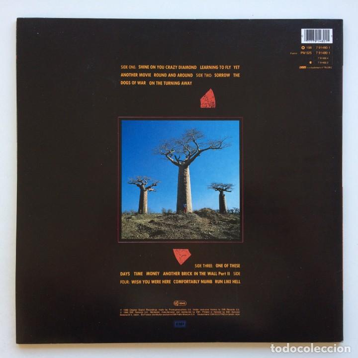 Discos de vinilo: Pink Floyd – Delicate Sound Of Thunder, 2 Vinyls Europe 1988 EMI - Foto 2 - 287178138