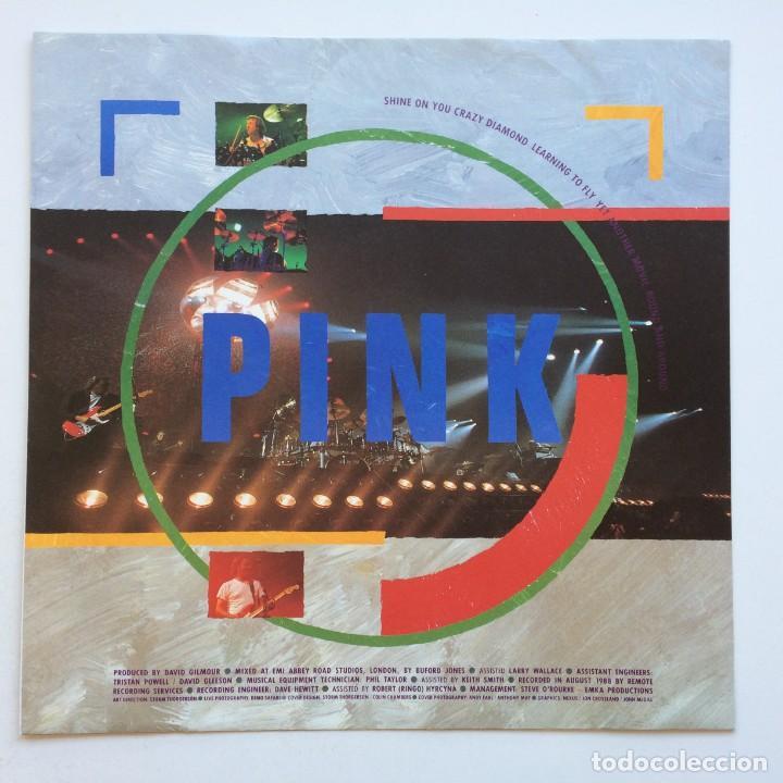 Discos de vinilo: Pink Floyd – Delicate Sound Of Thunder, 2 Vinyls Europe 1988 EMI - Foto 4 - 287178138